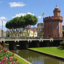 Fortess remains of Perpignan