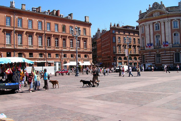 Place d'Opera in Toulouse