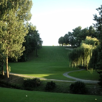Golf de Carcassonne hole nr 1