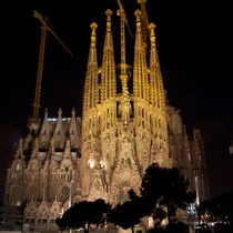 Segrada Familia in Barcelona