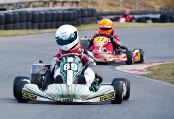 Karting circuit in Carcassonne