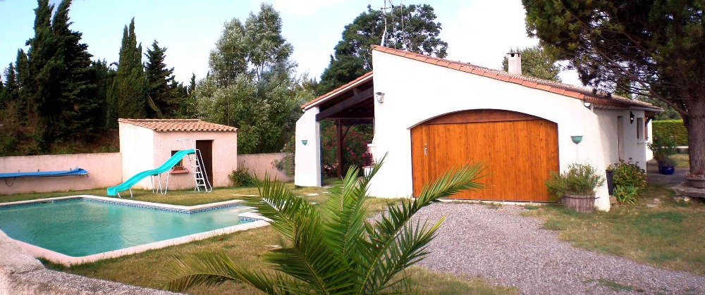 Villa-Holiday Home Cazilhac 2-6 people