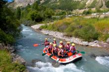 Wildwater rafting near Limoux