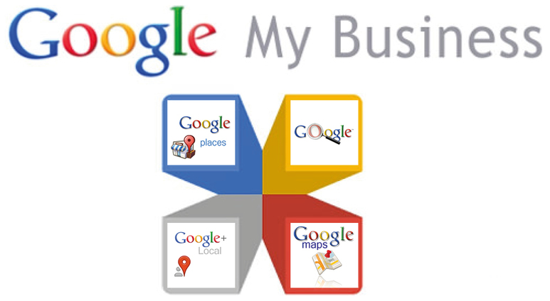 "Link ""Google my Business"""